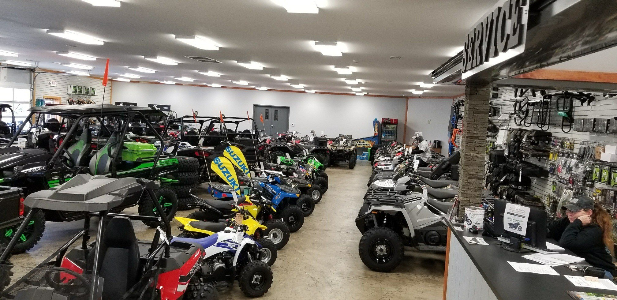 Village Motorsports is located in Unionville, VA  Shop our